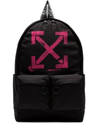 826a21a749c7 Off-White c o Virgil Abloh - Faded Arrow-print Backpack - Lyst