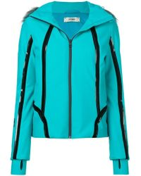 Fendi - Zipped Hooded Jacket - Lyst