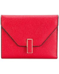 Valextra - Square Envelope Purse - Lyst
