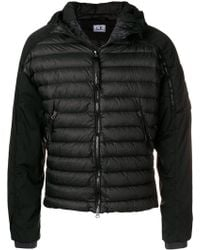 C P Company - Zipped Padded Jacket - Lyst