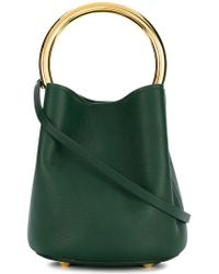 Marni - Metallic Handle Tote Bag - Lyst