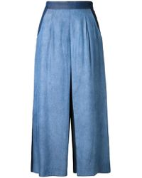 Guild Prime - Flared Cropped Trousers - Lyst