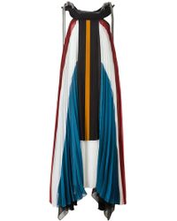 Chloé - Pleated Long Dress - Lyst