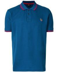 PS by Paul Smith - Short Sleeve Polo Shirt - Lyst