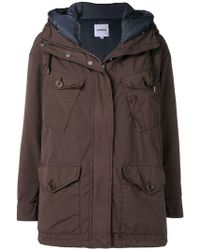 Aspesi - Hooded Coat - Lyst