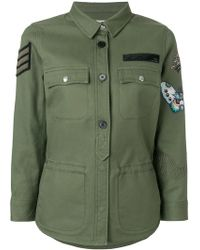 Zadig & Voltaire - Embroidered Military Jacket - Lyst