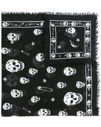 Alexander McQueen | Skull Patterned Scarf | Lyst