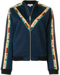 Mira Mikati - Ribbon Embellished Zip Front Jacket - Lyst