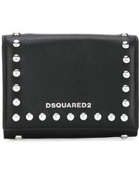 DSquared² - Icon Snap Stud Wallet - Lyst