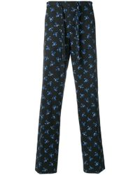 KENZO - Floral Print Pyjama Trousers - Lyst