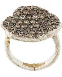Rosa Maria - Pave Diamond Ring - Lyst
