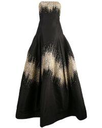 Oscar de la Renta - Shimmer Details Ball Gown - Lyst