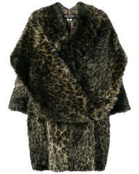 Junya Watanabe - Manteau oversize à motif léopard - Lyst