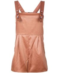 Bottega Veneta - Jewelled Playsuit - Lyst