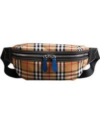 Burberry - Medium Vintage Check Bum Bag - Lyst
