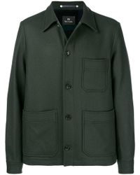 PS by Paul Smith - Single-breasted Fitted Coat - Lyst