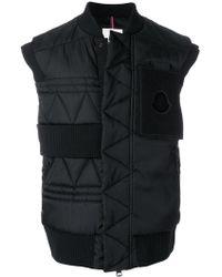a99def3261c8 Moncler  Freddie  Padded Jacket in Black for Men - Lyst