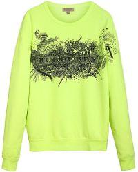 Burberry - Doodle Print Sweatshirt - Lyst