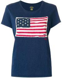 Polo Ralph Lauren - American Flag T-shirt - Lyst