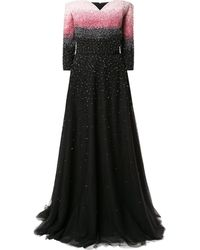 Saiid Kobeisy - Embellished Long Tulle Dress - Lyst