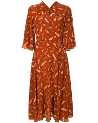 Karen Walker - Queen's Bishop Dress - Lyst