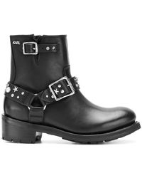 Karl Lagerfeld - Studded Boots - Lyst