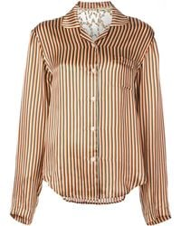 Mira Mikati Stripe Print Shirt