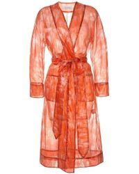 Marina Moscone - Sheer Jacket - Lyst