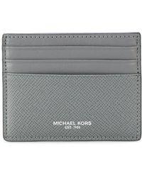 Michael Kors - Logo Embossed Cardholder - Lyst