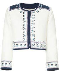 Talitha - Talia Embroidered Jacket - Lyst