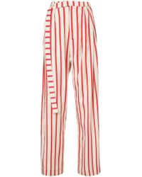 Christopher Esber - Striped Multi-tuck Pants - Lyst