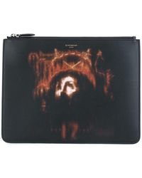Givenchy - Jesus Christ Print Clutch - Lyst