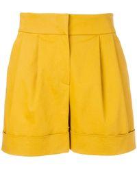 Alberta Ferretti | High-waisted Wide Shorts | Lyst