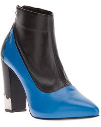 Toga - Paneled Ankle Boot - Lyst
