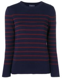 Armor Lux - Striped Sweater - Lyst