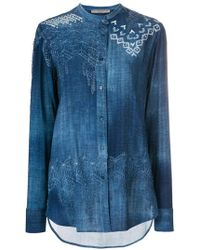 Ermanno Scervino - Printed Shirt - Lyst