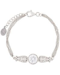 V Jewellery | Triple Strand Bracelet | Lyst