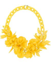 Isabel Marant - Statement Floral Necklace - Lyst