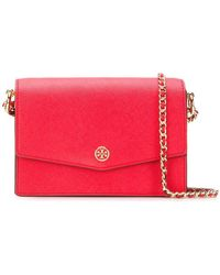 71e0e87fe543a Tory Burch - Robinson Convertible Mini Shoulder Bag - Lyst