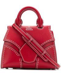 2250feceba Lyst - Ultrachic Op Hue Severine Bucket Bag Cardinal Burgundy in Purple