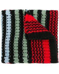 Sonia by Sonia Rykiel - Chunky Knit Striped Scarf - Lyst