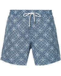 Venroy - Geometric Swim Shorts - Lyst