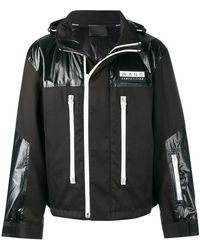 T By Alexander Wang - Contrasting Panel Jacket - Lyst