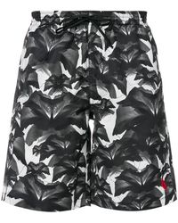 Marcelo Burlon - Flowers Swim Shorts - Lyst