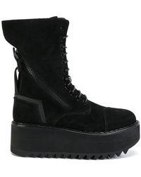 Bruno Bordese - Vibram Wedge Boots - Lyst