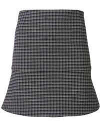 Sonia Rykiel - Mini Check Skirt - Lyst