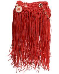 M Missoni - Fringed Knit Tote - Lyst