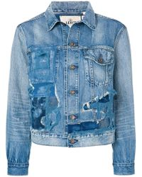Levi's - Distressed Patch Jacket - Lyst