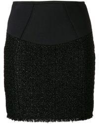 Alexander Wang - Zipped Mini Skirt - Lyst