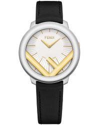 Fendi - F Logo Watch - Lyst